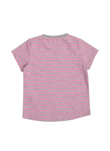 Pink&Orange Tişört Gri